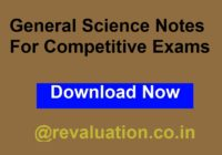 General Science Notes For Competitive Exams
